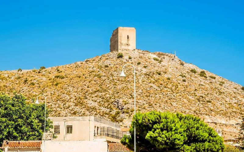 Castillo árabe de Castell de Ferro