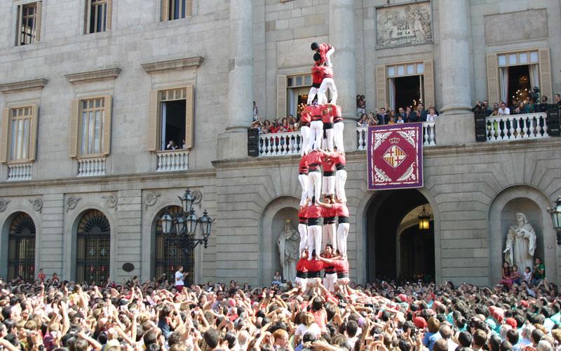 Fiestas en septiembre Señora de la Merced Barcelona