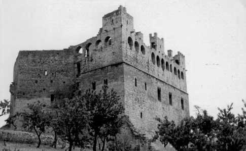 castillo valderrobles fotografia antigua