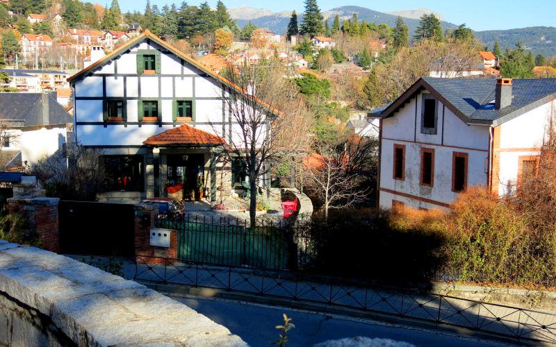 Casas típicas de Cercedilla