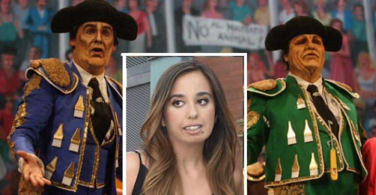 Andrea Janeiro y la chirigota del Carnaval de Cádiz
