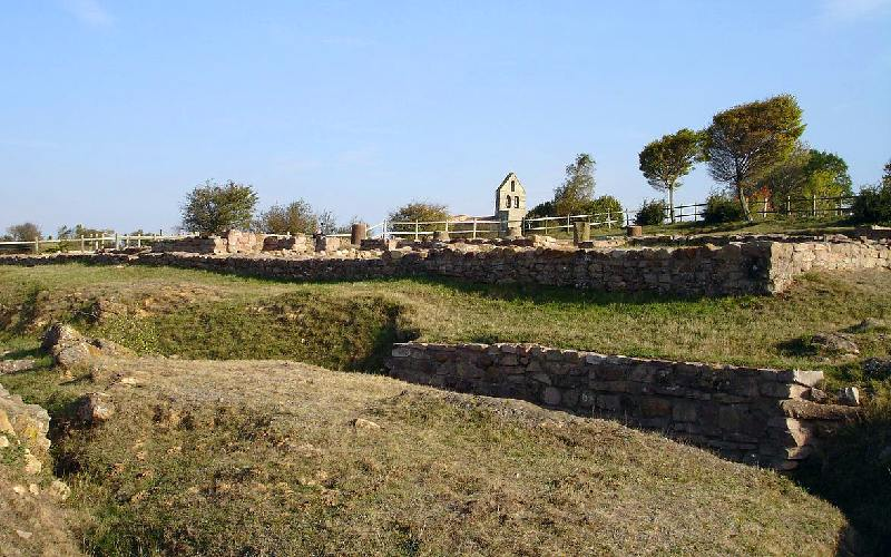 Paisaje de las ruinas de Julióbriga