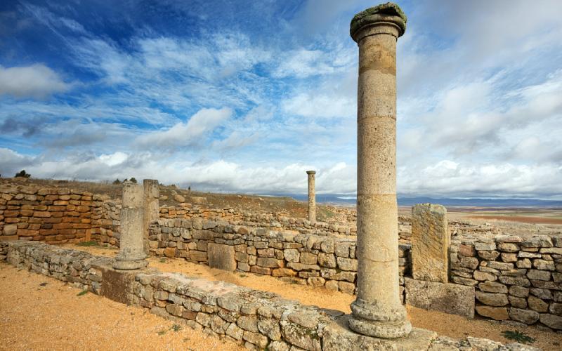 Ruinas de la ciudad abandonada de Numancia