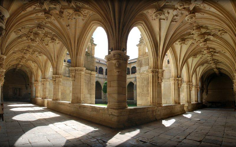 Claustro de San Zoilo en Carrión de los Condes