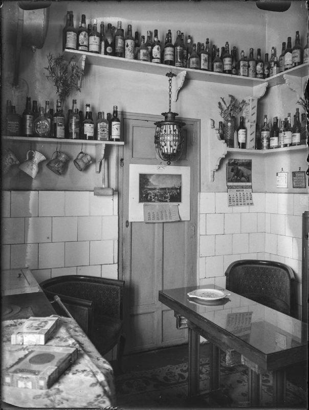 Cocina en 1945