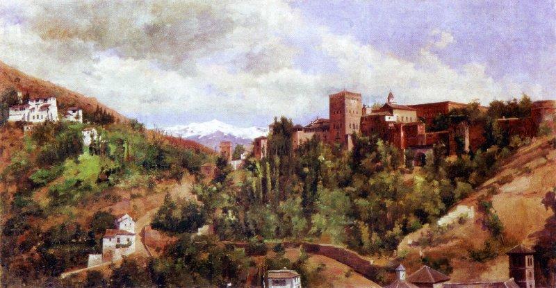 La Alhambra y la cuesta de los chinos Hernandez Miguel Vico