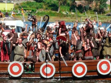Catoira / Desembarco Vikingo