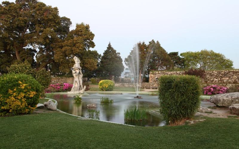 Jardines del parque de O Castro (Vigo)