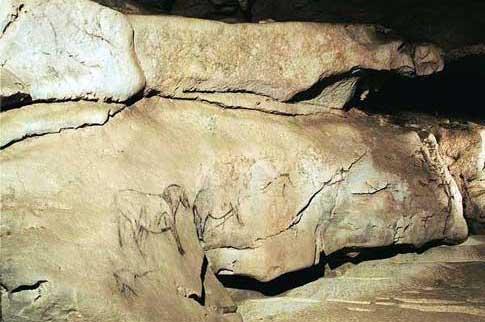 Galería Zaldei de la Cueva de Ekain