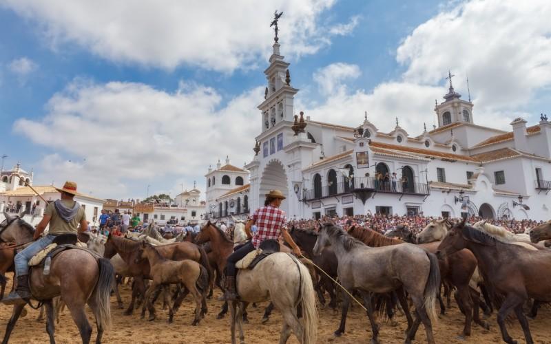 El acontecimiento andaluz de las Sacas de la Yegua