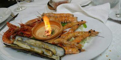 comer marisco bailen restaurante alamo