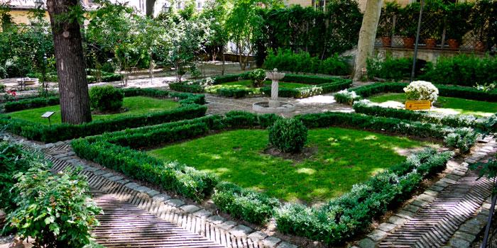 jardin príncipe anglona Madrid