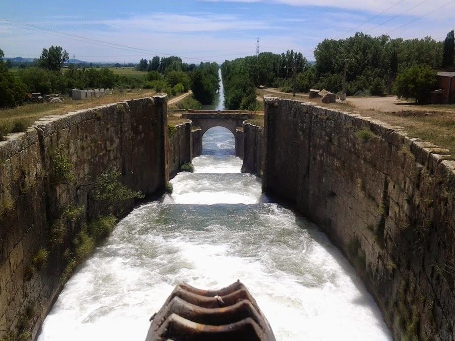 Canal de Castilla serron