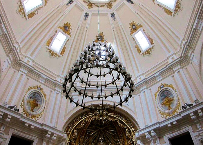 Madrid ermita virgen puerto cupula