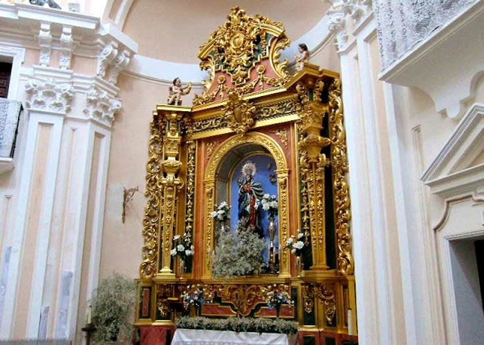Madrid ermita virgen puerto retablo