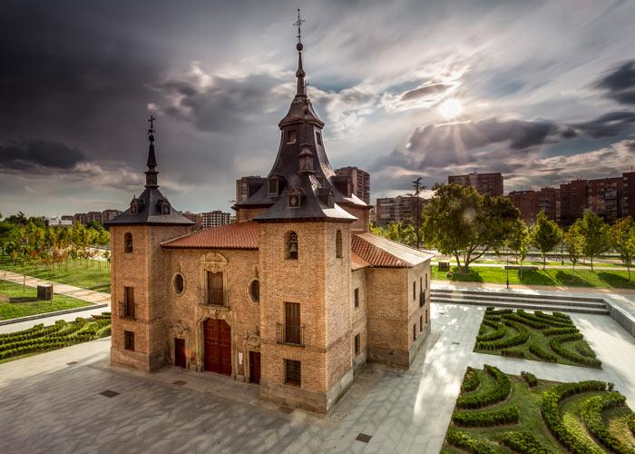Madrid ermita virgen puerto exterior