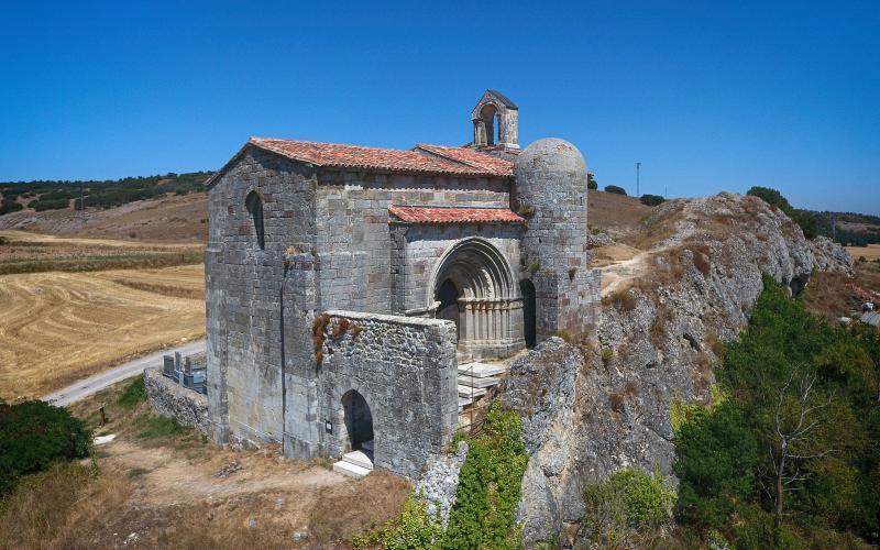 La belleza de la Ermita de Santa Cecilia es única
