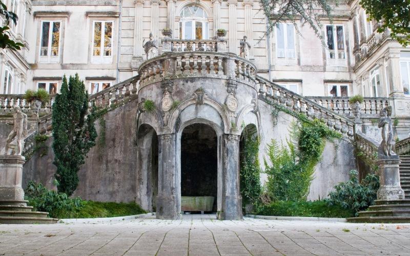 Escalinata imperial del Pazo de Lourizán