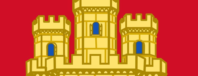 Detalle del escudo de Castilla
