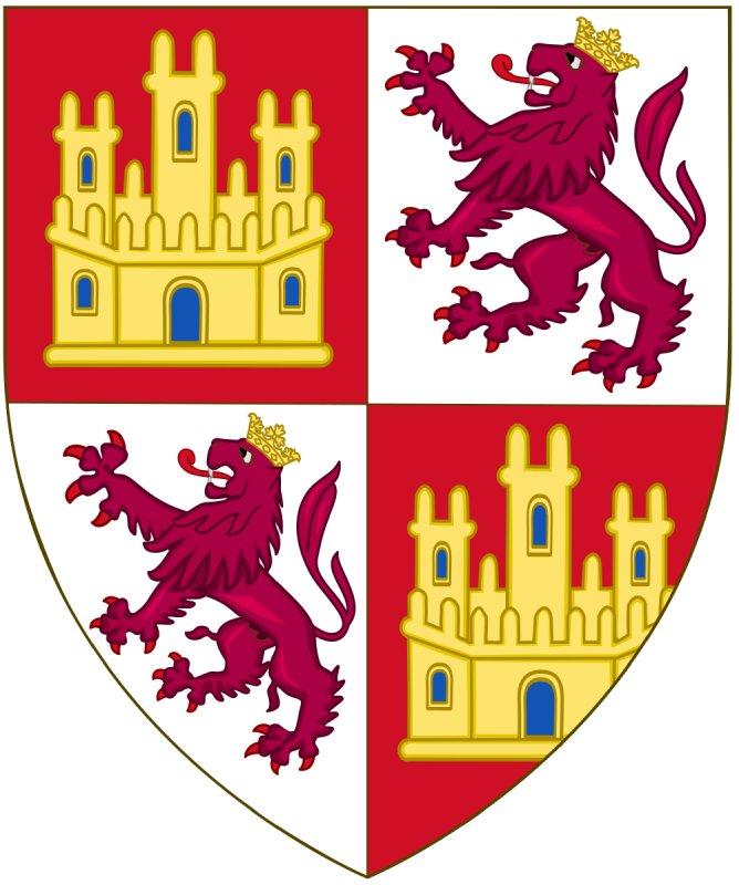 Escudo de Sancho IV y sus leones coronados