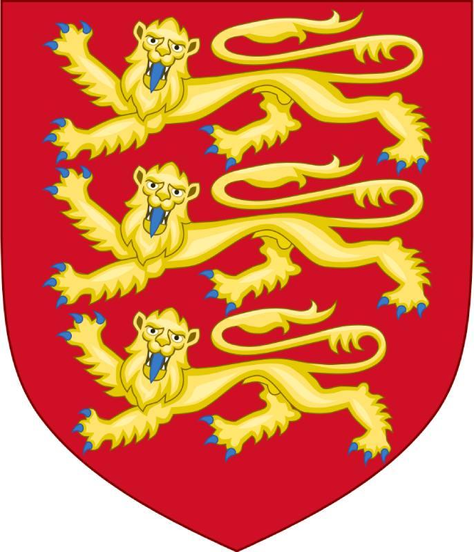Escudo de Leonor, Inglaterra y los Plantagenet en el siglo XII