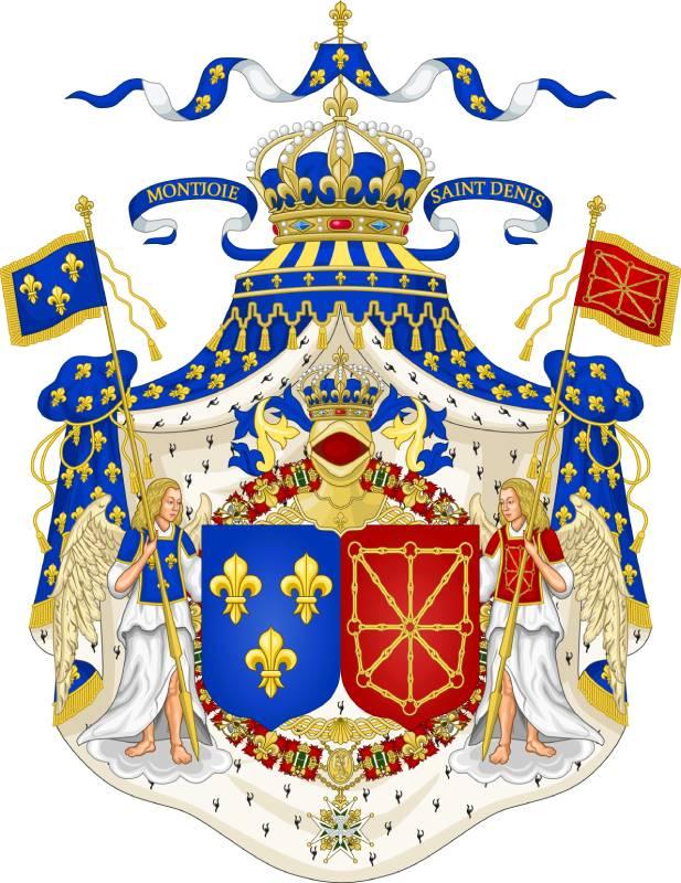 Escudos conjuntos de Francia y Navarra. | Wikimedia