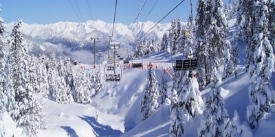 Estacion de esqui aine