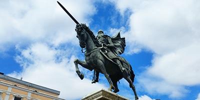 Estatua Ecuestre del Cid Campeador en Burgos