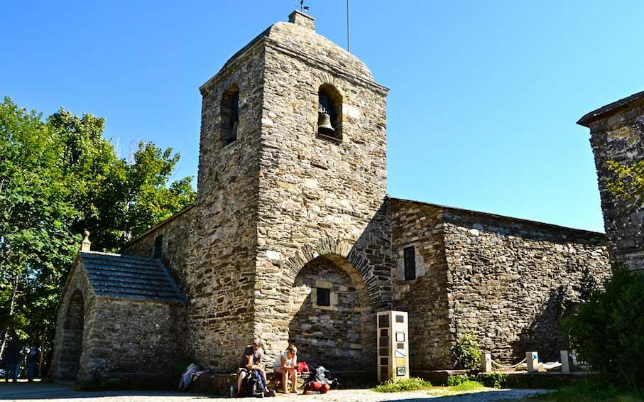 iglesias del camino francés