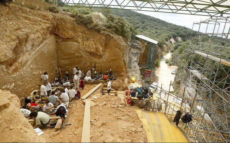 Trabajos en Atapuerca
