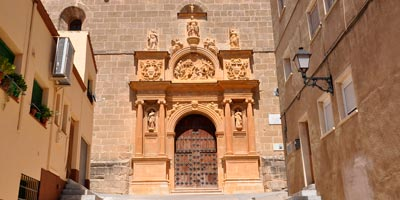 Fachada del Convento de Jesús y María