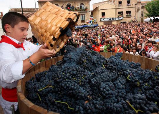 Fiesta de la Vendimia de Rioja Alavesa