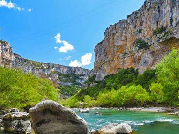 Foz de Lumbier, Foz de Arbayún y Acantilados de la Piedra