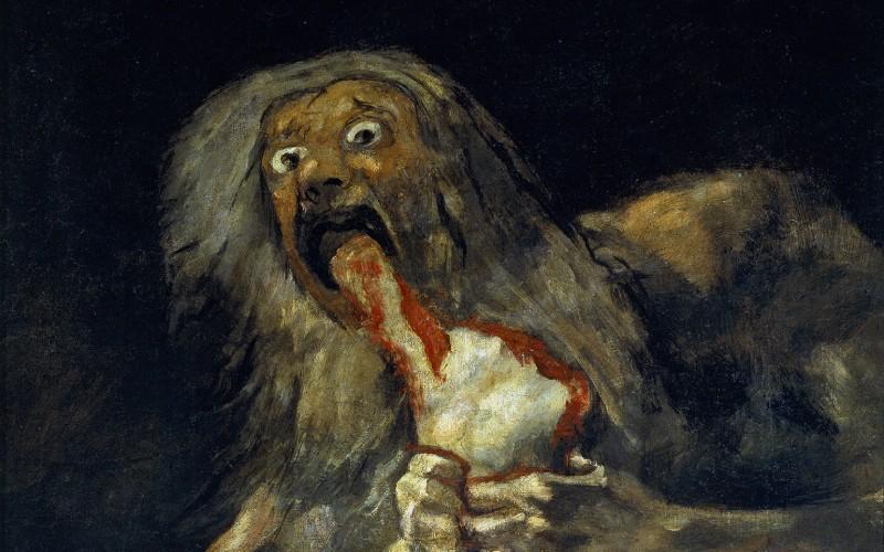 Saturno devorando a su hijo de Francisco de Goya | Wikipedia