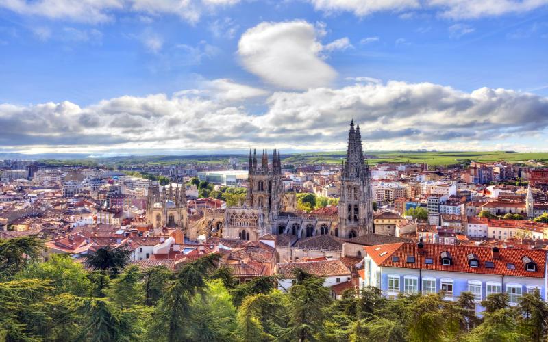 Vista general de Burgos