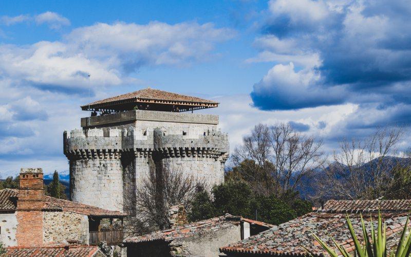 Castillo de Granadilla en Cáceres, una escapada para huir de la Navidad
