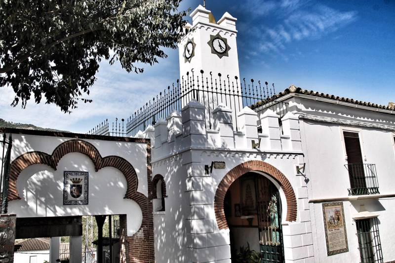 Ermita de San Antonio de Padua en Benamahoma