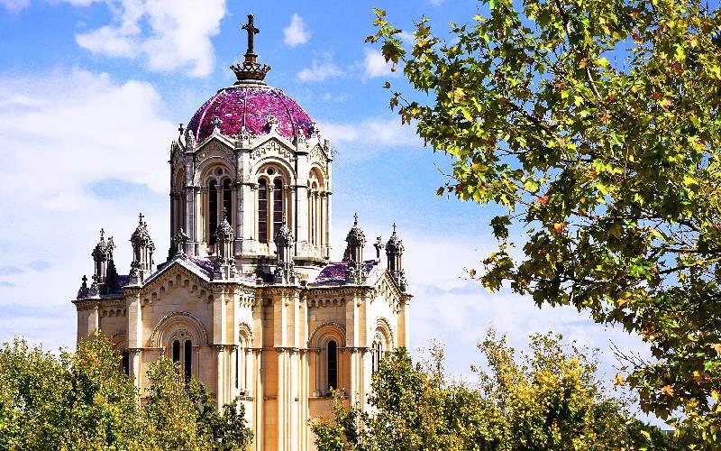 Panteón de la duquesa del Sevillano en Guadalajara