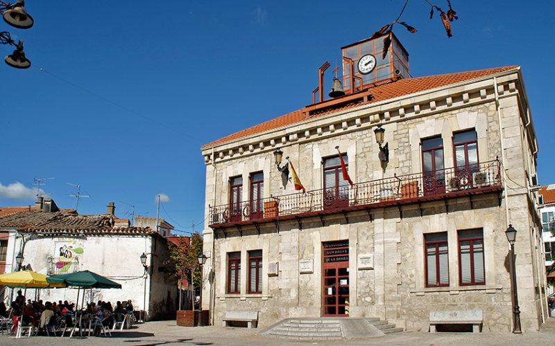 Plaza mayor de Guadalix de la Sierra