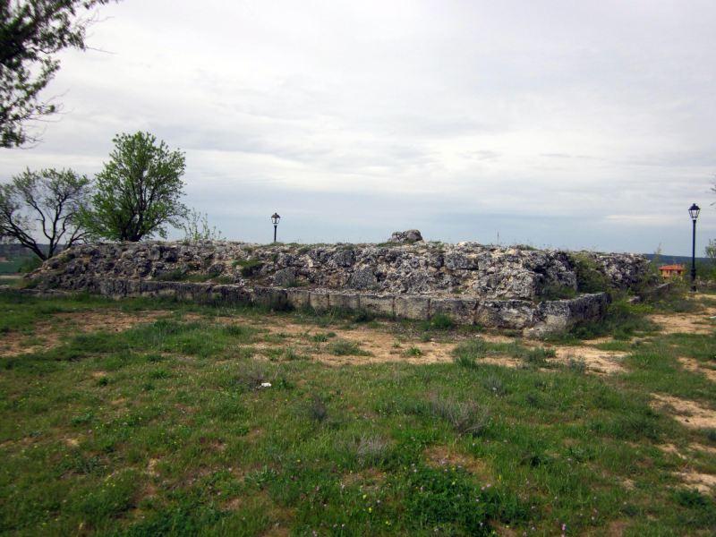 Restos del Castillo de Gumiel de Izán