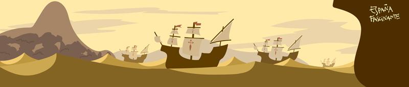 Vuelta al mundo Magallanes y Elcano llegada a Brasil y Río de la Plata