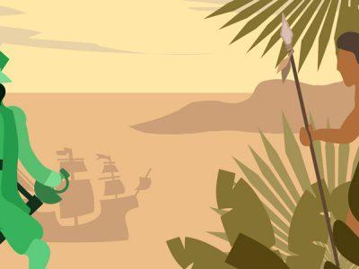 Capítulo 4 de la vuelta al mundo de Magallanes y Elcano: hacia Terra incognita