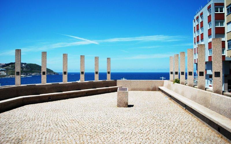 Balcón Balmis en la Casa del Hombre de A Coruña