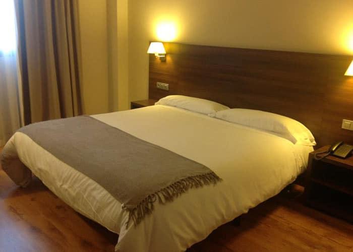 dormir simancas hotel pago olivo