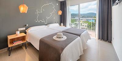Hotel Playa Sol - Dormir en Cala d´Hort
