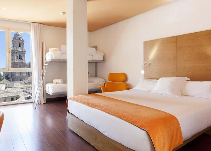 Dónde dormir en Málaga