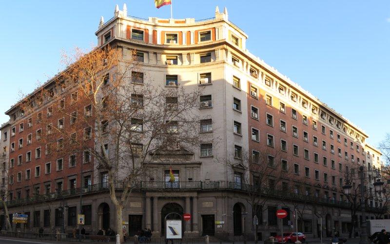 Sede del Instituto Nacional de Previsión