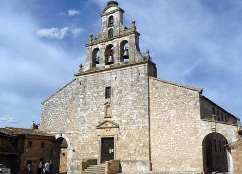 iglesia santa maria maderuelo