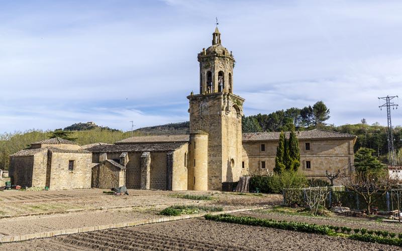 Iglesia del Crucifijo en Puente la Reina