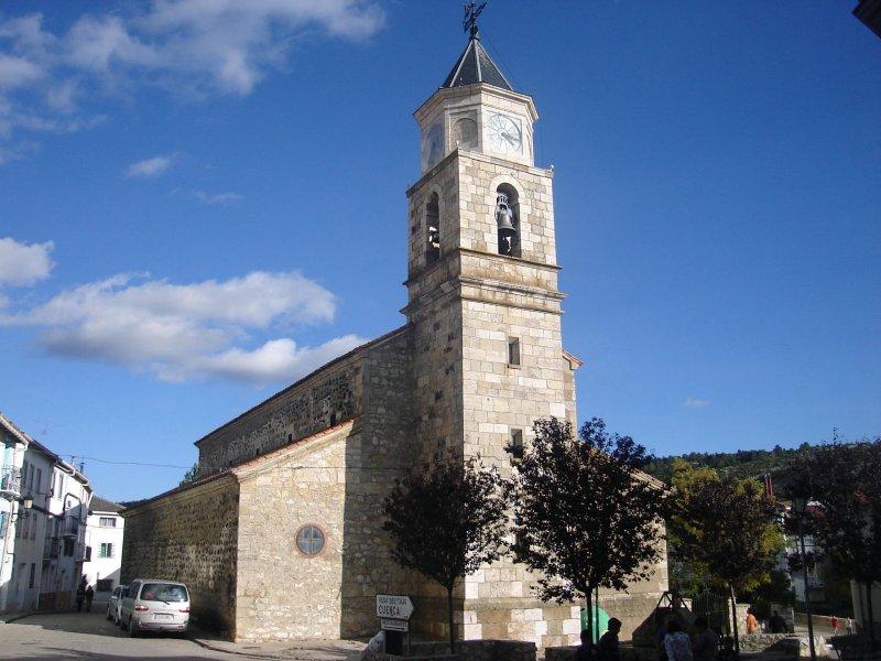 Iglesia de Santiago en Guadalaviar